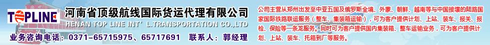 国际铁路运输,河南省顶级航线国际货运代理有限公司